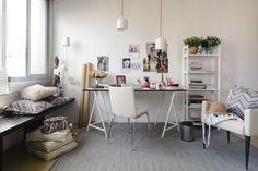 Home Office com inspiração escandinava!