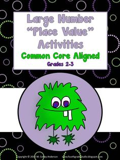 I am so excited to have my first grade 2-3 math resource ready to roll!  I know I am going to have some struggling math students this year, so I am working to create a series of hands on investigations to help them build number sense.  Here is the first--all about place value! $5.25