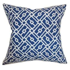 Milla Pillow in Blue