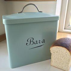 Bara bread bin, duck egg blue £30 #adra #adrahome #glynllifon #cymru #wales #cymraeg #welsh #caernarfon #gwynedd #gift #shop #kitchen #storage