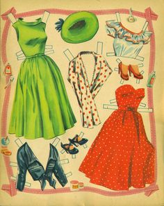 Rosemary Clooney Paper Doll Book, 1953 Lowe #1256 (5 of 8) | Bobe Green | Picasa Web Albums