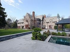 A Tisch Family Scion Lists Historic Stone Home in Suburbs