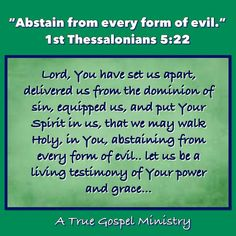 Are you a living testimony of His power and grace? Scripture For Today, Scripture Quotes, Bible Scriptures, Walk In The Spirit, 1 Thessalonians 5, You Are Blessed, Seeking God, Daily Prayer, S Word