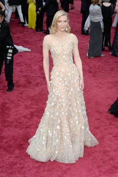 Cate Blanchett Photos Photos - Actress Cate Blanchett attends the Oscars held at…