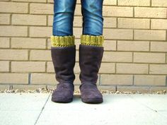 crochet boot cuffs. next up on the project list! :)