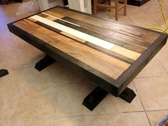 Pallet Coffee Table – Premium Edition - 300+ Pallet Ideas and Easy Pallet Projects You Can Try - Page 10 of 29 - Pallets Pro