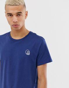 Cheap Monday tiny skull t-shirt at ASOS. Scandi Style, Cheap Monday, Jeans Fit, Asos, Polo Ralph Lauren, Skull, Mens Fashion, Mens Tops, T Shirt