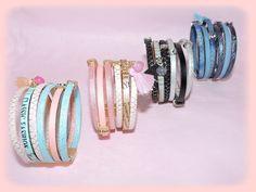 Bracelets manchette cuir2