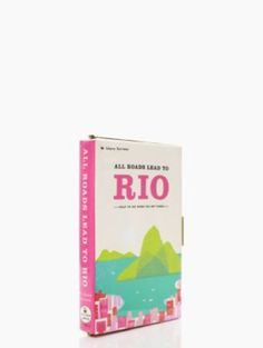 all roads lead to rio book clutch - kate spade new york