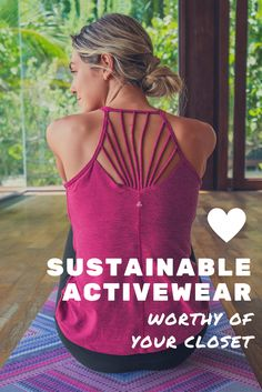 On the hunt for new activewear and athleisure? Check out these 20 pieces of sustainable activewear, worthy of your closet!