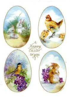 Vintage love illustration free printable 57 New Ideas Vintage Easter, Vintage Christmas, Decoupage, Easter Pictures, Easter Parade, Egg Art, Love Illustration, Egg Decorating, Vintage Love