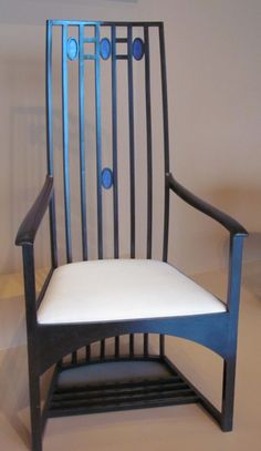 Charles Rennie Mackintosh Designed Chair