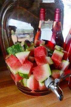 Watermelon Sangria by Ree Drummond / The Pioneer Woman, via Flickr