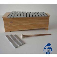 Metalofones, xilofones, jogos de sinos e outros instrumentos Orff (ou de Iniciação Musical), encontra no Salão Musical de Lisboa. Consulte o nosso site.