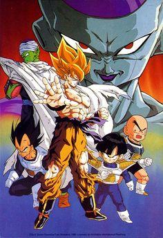 Dragon Ball Z Dragon Ball anime Akira Toriyama Son Goku Son Gohan Vegeta Piccolo Kuririn Freeza Super Saiya-jin Super Saiyan Freeza Saga