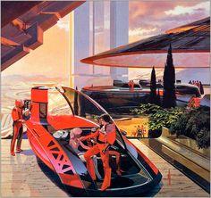 retrofutur Science Fiction Crazy  Design