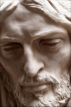 """Jesus "" de Santiago Nuevo Source by antikapratika - Wood Carving Faces, Sculpture Clay, Figurative Sculpture, Portrait Sculpture, Stone Sculpture, Jesus Art, Jesus Face, Jesus Statue, Portrait"