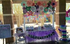 Cindy Paperie 's Birthday / Butterflies and flowers - Photo Gallery at Catch My Party Baby Girl Birthday, 2nd Birthday, Birthday Ideas, Birthday Parties, Spring Cake, Butterfly Party, Baby Shower Parties, Babyshower, Butterflies