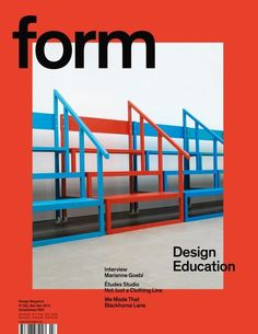 Form is a Stockholm-based bimonthly publication, covering architecture and design with a special focus on the Nordic region. #Magazines #Form #GraphicDesign #Graphic #Zines #EditorialDesign #Typography #Identity