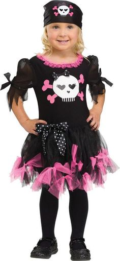 Just put this doll in the mail for a birthday surprise for my sally skully pirate costume kidstoddler girl sciox Choice Image