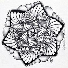 #Zentangle 2015-057, #tangleharmony #zendala template no. 7 with isochor, poke root, paradox, kozy and pearls. (kurki15) Tags: square sketch drawing mandala squareformat zia tangle micron zenart zentangle meditativeart zendoodle zendala iphoneography instagramapp zentangleinspiredart tangleharmony 2015zenfeb zentangleaday