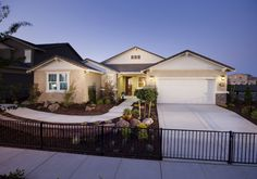 The Harmony Plan at Aria at Madeira in Elk Grove, California. 2,410 sq. ft., 3 bedrooms, 2 bathrooms. Our super popular single-story plan!