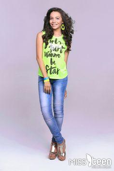 Ella es Andrea Carrasco, candidata a #MissTeenNica 2015. Tiene 17 años y representa a Matagalpa. ¡Clic para conocer más de ella!