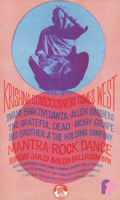 Grateful Dead at Avalon Ballroom by Unknown.Performers: Grateful Dead Moby Grape Big Brother and the Holding