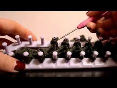 FASTEST WAY to Cast/Bind Off on a Knitting Loom - Knitting Story