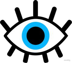 'magic eye' Sticker by emably Eyes Clipart, Art Room Posters, Evil Eye Art, Handy Wallpaper, Eye Illustration, Eye Stickers, Cricut Craft Room, Magic Eyes, Art Prints Quotes