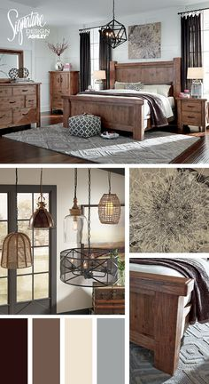 Tamilo Queen Poster Bed - Bedroom Furniture and Accessories - #AshleyFurniture
