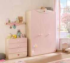 Cilek Baby Girl 3 Ajtós Szekrény 20.42.1002.00.2 Armoire, Dresser, Baby, Furniture, Home Decor, Clothes Stand, Powder Room, Decoration Home, Closet