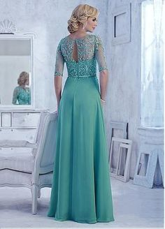 DressilyMe Bridal Dresses Online,Wedding Dresses Ball Gown, chiffon a line gown full length dress with beaded appliques Bridal Dresses Online, Evening Dresses For Weddings, Wedding Party Dresses, Dress Online, Prom Dresses Blue, Ball Dresses, Ball Gowns, Mother Of The Bride Dresses Long, Mothers Dresses