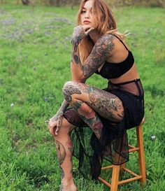 Related posts:beauty in a mirror tattoobeautiful swimsuit girl with a tattoogirl with tattoos and large forms Hot Tattoos, Body Art Tattoos, Girl Tattoos, Tattoos For Women, Tattooed Women, Female Tattoo Models, Tatto Ink, Tattoo Art, Special Tattoos