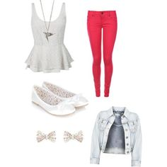 Cute Outfits for Middle School Polyvore | Found on polyvore.com