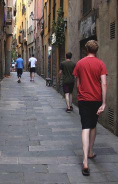 Barcelona, Sidewalk, Walkway, Barcelona Spain, Walkways