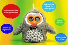 Hibou Owl Smart Electronic Toy - Interactive, Educational, Free App for Android + iOS Devices