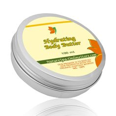 Organic Hydrating Body Butter: perfect for cold season to boost the skin's moisture levels