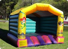 Mermaids Bouncy Castle Fun for the kids and big kids too, School holidays or a birthday.