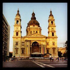 St. Stephen's Basilica #budapest #hungary