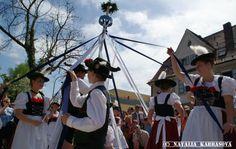 May pole erection / Maibaum-Aufstellung 2012