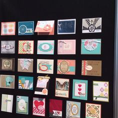 Stampin up boards