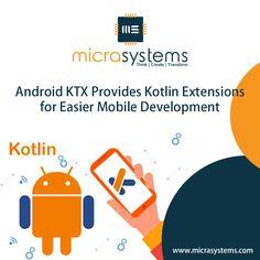 Android KTX provides Kotlin Extensions that ease our Mobile Application Development!  #news #androidKTX #kotlin #IT_Software_Company #TechNerds #TechGeek #Technolgy_enthusiast #Drupal #CakePhp #NodeJS #Laravel #ReactNative #dotnet #Magento #wordpress #mongodb #technology #HireUs