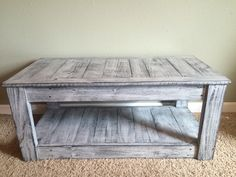 Rustic Coffee Table by CountryRecreations on Etsy