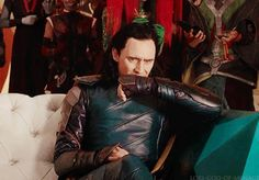 """loki-god-of-menace: """"""""I can't handle this… Source. """" """" Don't be nervous, my king."""