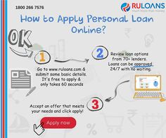 How to apply personal loan online? - Follow this simple steps!  - Ruloans