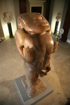 Jacob Epstein's infamous, alabaster sculpture 'Adam', dominates the Entrance Hall. Made in the 1930's the work has always been controversial. The late Lord Harewood acquired it for display in the 1961 Edinburgh Festival. In 1976, 'Adam', arrived at Harewood where he has stood ever since.