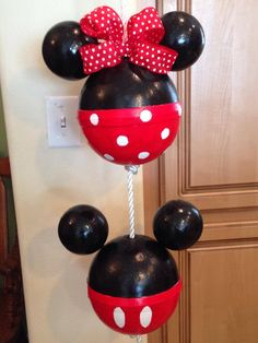 My Mickey And Minnie Buoys that I made