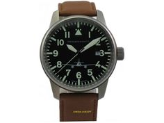 Fliegeruhr Messerschmitt ME hautfreundlich Titan Piloten Made in Germany Messerschmitt Me 262, Omega Watch, Germany, Watches, Ebay, Leather, How To Wear, Accessories, Pilots
