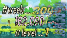 Angry Birds Friends Tournament Week 204  Level 1   no power  HighScore (...